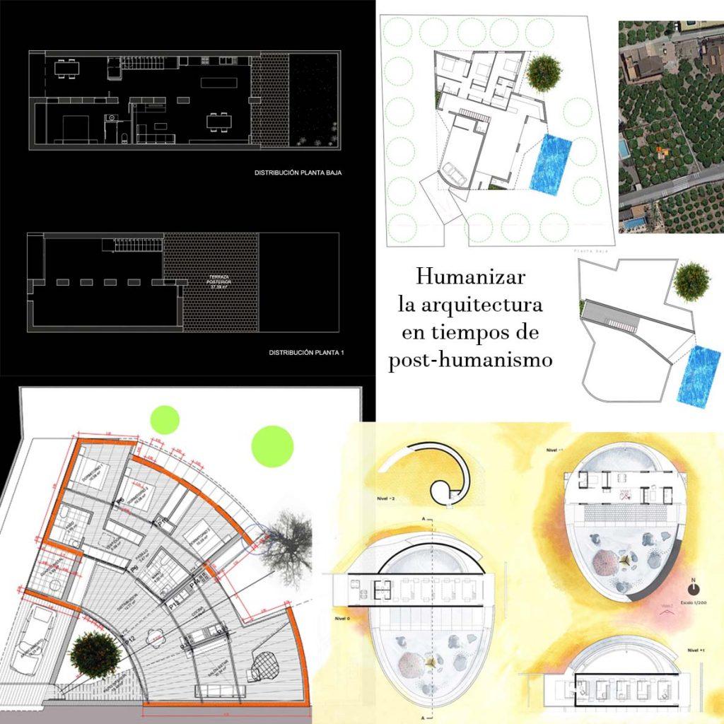 Plantas de proyecto. Arquitectura Humana